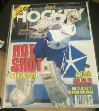 February/March 1993 Inside Hockey Magazine (Ron Hextall on cover) Quebec
