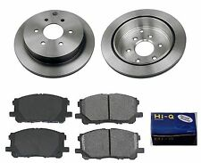 Rear Ceramic Brake Pad Set & Rotor Kit for 2005 2008-2013 Nissan Xterra