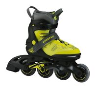 Firefly Kinder Inliner FF Comp Adj Junior gelb schwarz