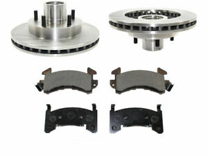 For 1994-2002 Chevrolet S10 Brake Pad and Rotor Kit Front 47465NX 1998 1997 1996