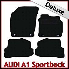 AUDI A1 Sportback 5 PORTE 2010 in poi su misura Lux 1300 G Tappeti Tappetini Auto Nero
