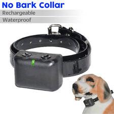 Anti Bark Automatic Stop Barking Rechargeable Dog Training Vibration Collar