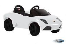 Kinderfahrzeug Kinder elektro auto Ride On Lamborghini Murcielago weiß RC