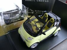 1/18 Kyosho Smart convertible streamgrün con wechselbaren bodypanels