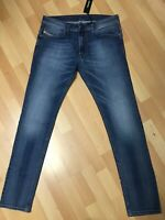 NWT Mens Diesel THAVAR XP Stretch Denim R18W6 BLUE Slim W31 L32 H6 RRP£150