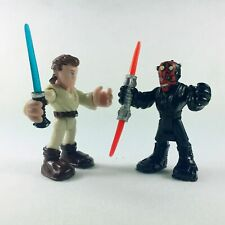 Playskool Heroes Star Wars Galactic Heroes Obi-Wan Kenobi and Darth Maul