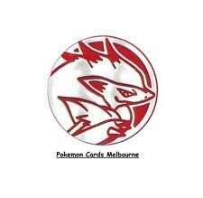 Pokemon Zoroark Collectible Coin (Red & Silver) Limited Edition Pokemon Coin