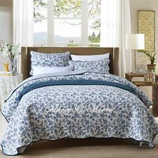 Blue Mist Coverlet by Macey & Moore fits King | Queen