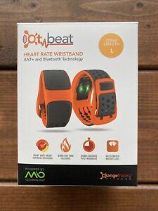 NEW OT Beat Orange Theory Fitness Mio LINK Heart Rate Wristband Size L