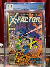X-Factor #1 CGC 5.5 *KEY 1st Appearances, Newsstand Marvel Comics 1986