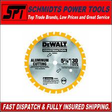 """DeWALT DW9052 30T 5-3/8"""" - 136mm ALUMINIUM CUTTING CIRCULAR SAW BLADE 10mm BORE"""