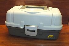 "Plano 13 1/2"" L x 7"" H Plastic Single Tray Fishing Tackle Box Only *Read*"