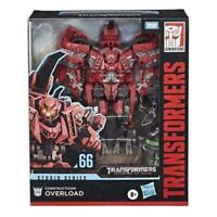 Hasbro Transformers Studio Series Leader Class # 66 Overload Action Figure