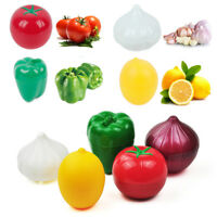 Fruit Vegetable Shape Storage Saver Box Food Containers Keep Fresh Kitchen Tools