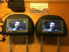 BMW E60 M5 OEM TV/DVD HEADREST MONITORS ENTERTAINMENT DINAN 550i 535i E63 M6 650