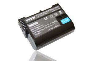 Batteria con chip  1.4Ah 7.2V / 7.4V Li-Ion per Nikon D7100, D610, D750