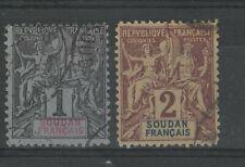 Soudan - n° 3 et 4 oblitérés - C: 5,00 €