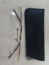 +2.50 Diopter Gold Eschenbach MiniFrame2 Reading Glasses
