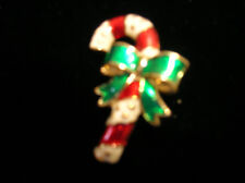 """X 1"""" Nice Gift Idea.( New) Candy Cane Brooch (Pin) 1 1/2"""""""