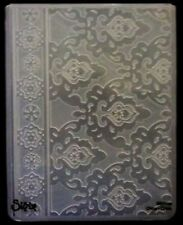 Sizzix Large Embossing Folder MEDITATIVE FLORALS fits Cuttlebug 4.5x5.75in