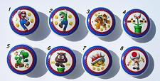 8  MARIO BROTHERS DRESSER DRAWER KNOBS  MADE AS ORDERED