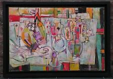 Les cartes anciennes - Huile sur toile de Claude SCHURR