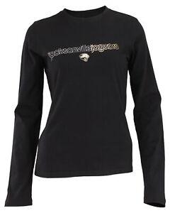 Reebok NFL Juniors Women's Jacksonville Jaguars Long Sleeve Everyday Shirt