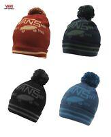 Vans Winter  Mens Womens Pom Pom Bobble Beanie Hat One Size Unisex