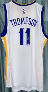 KLAY THOMPSON Signed Jersey Golden State WarriorsAdidas Swingman with COA