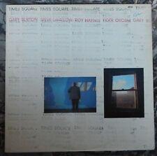 Gary Burton – Times Square 1978 LP Jazz ECM-1-1111 VG Steve Swallow