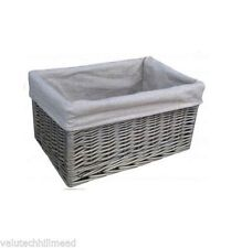 Willow Rectangular Rustic Decorative Baskets