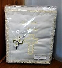 New Set of 2 Nuestra Boda Our Wedding Guest Book & Photo Album White Lace Flower