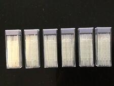 6x 60pcs White Dental toothpick toothpicks Brush Tooth Picks Plastic Interdental