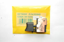 Interruttore HITACHI driver impatto cordless trapano dv14dmr dv18dmr DV 14 DSDL 333640