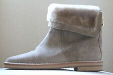 JIMMY CHOO QUARLEY SHEARLING LINED SUEDE BOOTS UK 5.5 US 8.5 EU 38.5