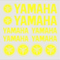 10x ADESIVI Giallo FLUO compatibile YAMAHA XT 660 1200 Z TMAX TDM MT Majesty FZ
