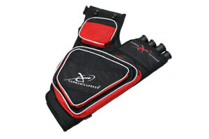 @NEW@ Carbon Express CX Target Red Arrow Quiver by Elevation Archery