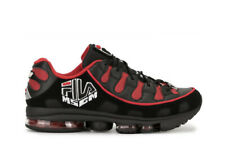 $320 MSGM x FILA Silva Trainer Sneakers Red Black Men's Size 13