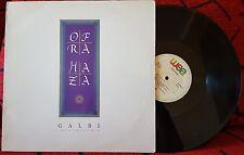 "OFRA HAZA ""Galbi - The Sehoog Mix"" VERY RARE 1988 Spain 12"" Single By DISCOS CBS"