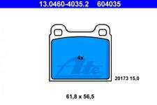 Bremsbelagsatz, Scheibenbremse für Bremsanlage Vorderachse ATE 13.0460-4035.2