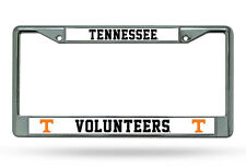 Tennessee Volunteers Chrome Metal License Plate Frame