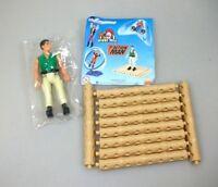 Action Man Figur auf Floß Actionfigur Mc Donalds 2000