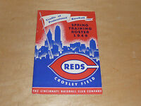 1949 CINCINNATI REDS BASEBALL MEDIA GUIDE EX-MINT