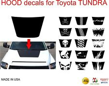 for any Toyota Tundra 2014 2015 2016 2017 2018 HOOD DECALS  - many options avlbl