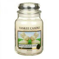 YANKEE CANDLE candela profumata giara grande white ciocolate bunnies 150 ore