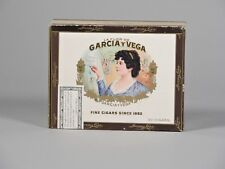 Vintage La Flor De Garcia Y Vega Cigar Box
