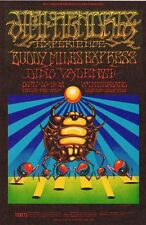 Jimi Hendrix Concert Poster by Rick Griffin & Moscoso Bg140
