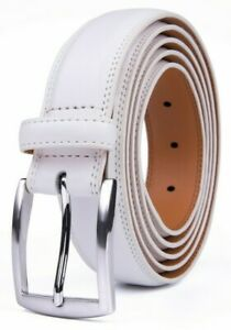 Genuine Leather Belts for Men Dress Causal Mens Belt, Many Colors & Sizes