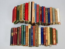A Collection of FIFTY OLD BOOKS inc. George Orwell, R Louis Stevenson, Poetry &c