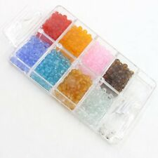 1x Boxes Nice Mix Plastic Mini Spacer Seed Beads 110082